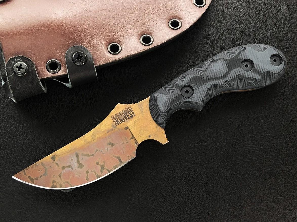 Dawson Forester - Copper Finish, pewter/ black