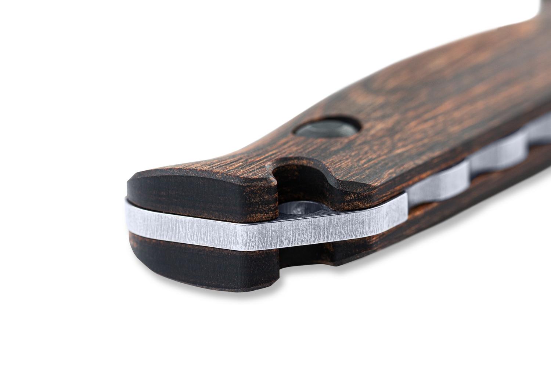 Benchmade 15002 - Saddle Mountain Skinner, Wood