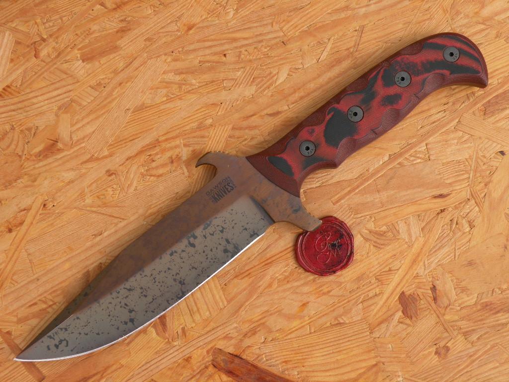 Dawson Bodyguard - Copper Finish, red/black