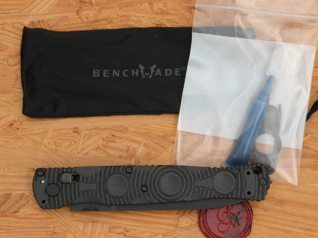 Benchmade 391BK - SOCP Folder, Axis