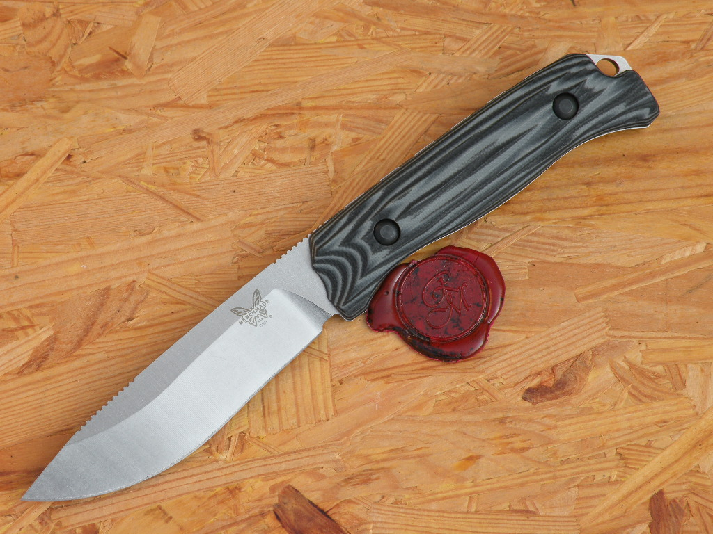 Benchmade 15001-1 Saddle Mountain Skinner G-10