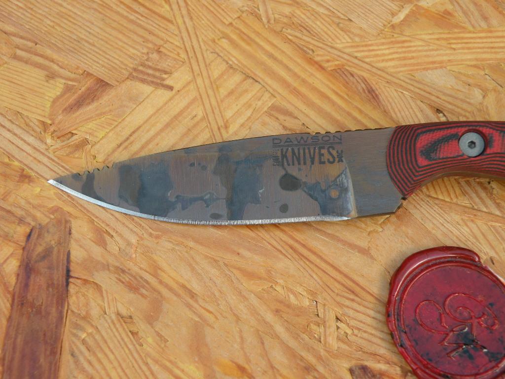 Dawson Serengeti - Copper Finish, red/ black