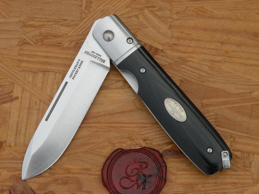 Fällkniven GPbm - Gentlemen Knife - Black Micarta