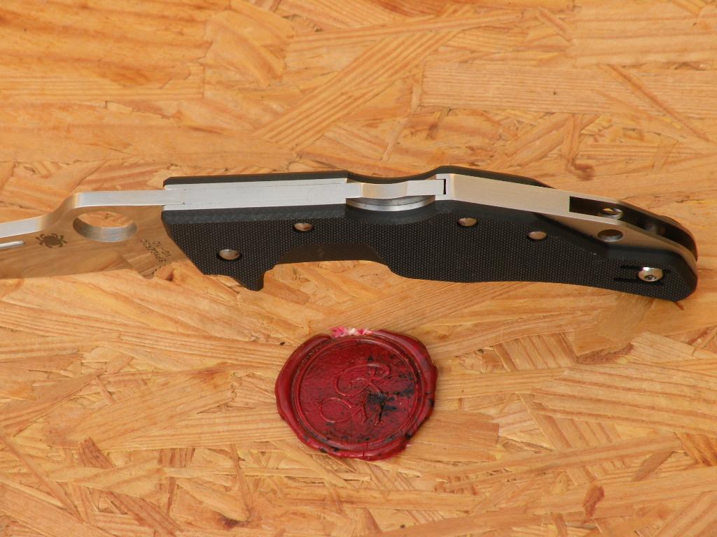 Spyderco C168GP Battlestation G-10 Black