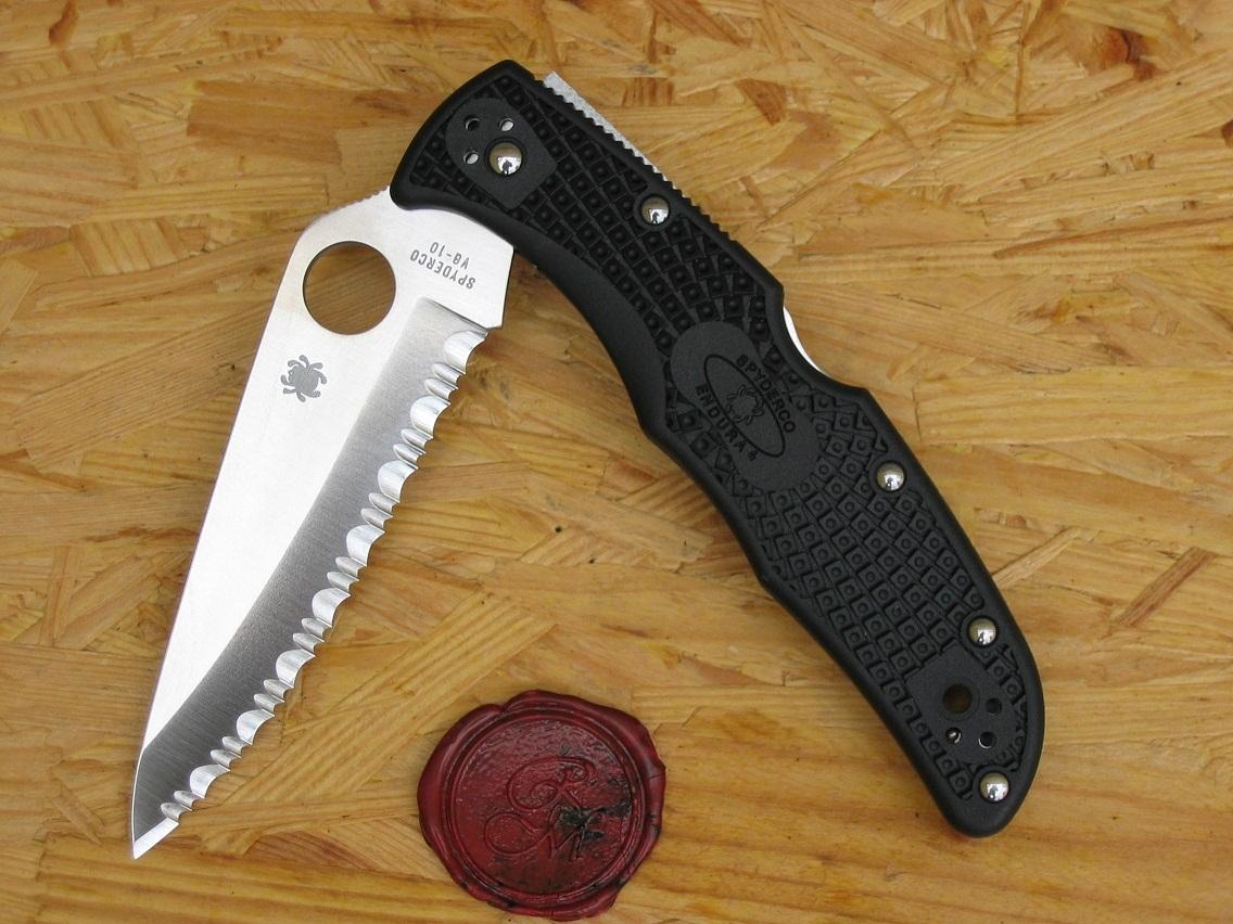 Spyderco C10SBK Endura 4, FRN Black