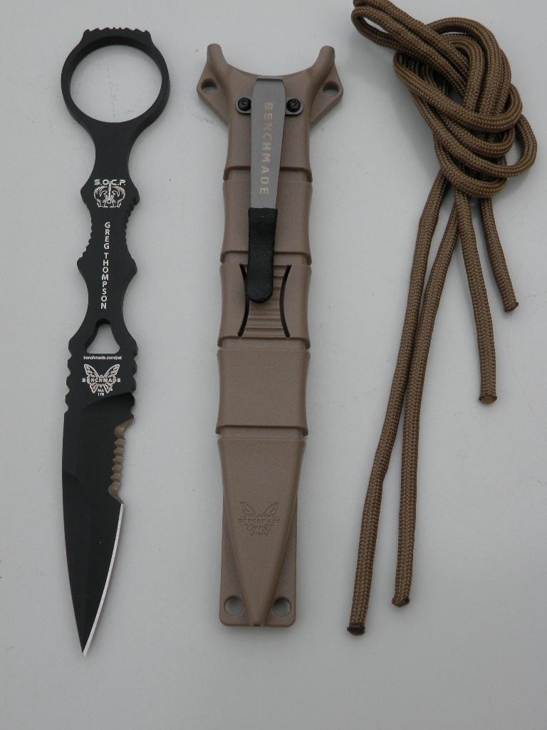 Benchmade 178SBKSN - SOCP Dagger