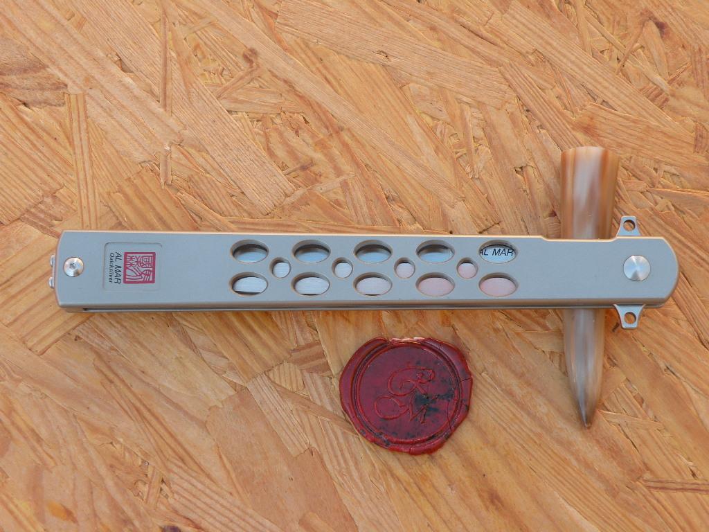 Al Mar 4046 Quicksilver 5 Zoll Ultralight Titan