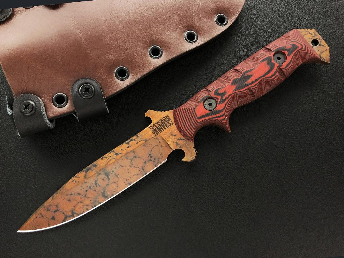 Dawson Chief - Copper Finish, red/ black