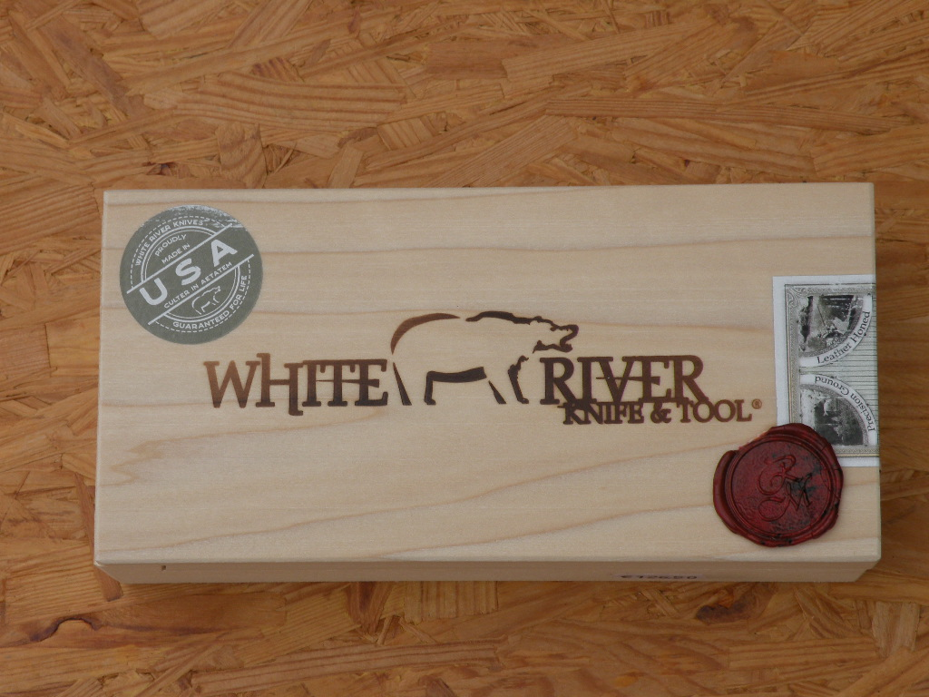 White River M1 Backpacker Olive Drab Paracord, Coa