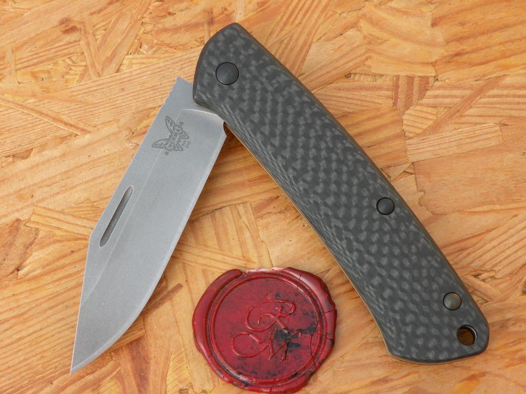 Benchmade 318-2 Proper, Carbon Fiber, S90V
