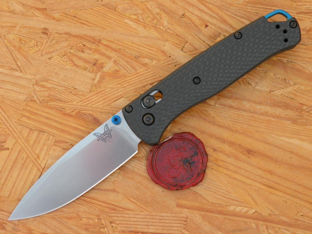 Benchmade 535-3 BUGOUT, Carbon Fiber, Axis