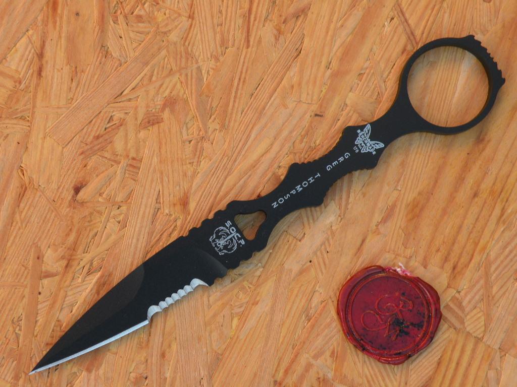 Benchmade 178SBK SOCP Drop PT