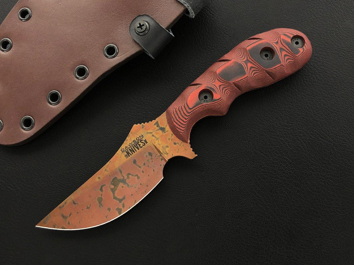 Dawson Forester - Copper Finish, red/black