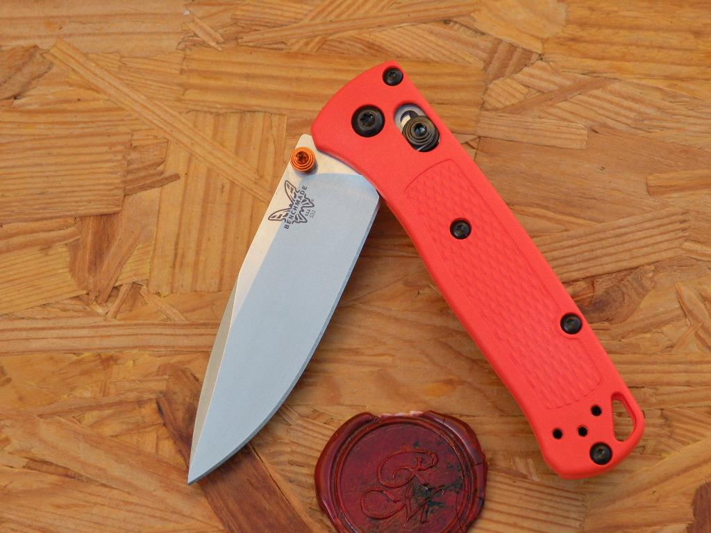 Benchmade 533 MINI BUGOUT, Orange, Axis
